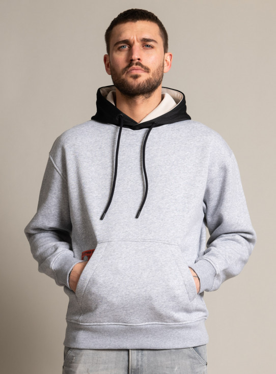 211-D19149-A971 CONTRAST HOODED